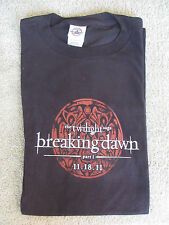 TWILIGHT BREAKING DAWN PART 1 WOLF TATTOO Logo T-SHIRT NEW Large ADULT Comic Con