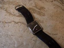 Men's Steinhausen Swiss Movement Square Black Dial Watch with Date....Running