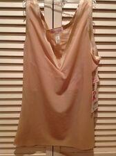NWT! SPANX Haute Contour Alluring V-Neck Camisole 416 $138, Medium Blush Beige