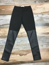 BCBGeneration Size Small S Black Leggings Stretch Pants Skinny BCBG