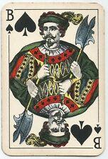 Jeu de cartes jeux de cartes avec des vues de paris sur les Assen, France 1920