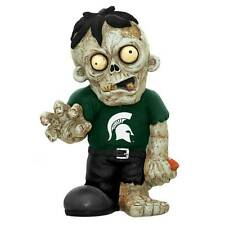 "NWT-Forever Collectable 9"" NCAA Football Michigan State Spartans Zombie Figurine"