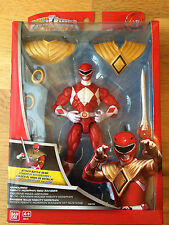 Power rangers super megaforce blindé rouge ranger avec dragonzord dague-neuf