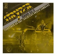 """12"""" Maxi Single Stryper Isaiah 53:3 Together As One 80`s Enigma"""