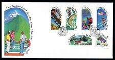 New Zealand 1994 FDC Tourism - Set of 6