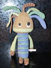 """20"""" POTTERY BARN KIDS PLUSH Monster Alien CRAZY HAIR Creature Kids Room Boy Girl"""