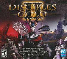 DISCIPLES II GOLD 2 - 4x RPG PC Games - Dark Prophecy, Rise of the Elves,etc NEW
