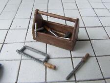 Werkzeugkasten  für Werkstatt oder Tankstelle, Automodellbau-ZubehörMaßstab 1:18