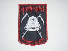MIDNIGHT FAREWELL TO HELL EMBROIDERED PATCH