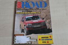 163845) Opel Frontera 2.3 TD 70TKM-Dauertest - Off Road 11/1993