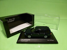 MINICHAMPS 56014 VOLKSWAGEN GOLF VARIANT 1999 - BLUE METALLIC 1:43 - MINT IN BOX