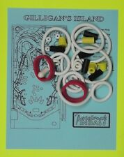 1991 Bally / Midway Gilligan's Island pinball rubber ring kit