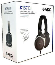 AKG K167 DJ Over-ear Closed-back Professional DJ Headphones New AKG K167
