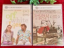 Film Movement Movie DVD Lot * Shun Li and the Poet & Off White Lies * New Sealed