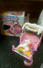 MY LITTLE PONY G2 1997 LIGHTHEART & CANOPY BED