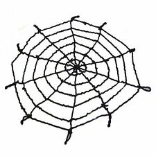 1x Rope Halloween Big Spider Web Webbing Bar Party Decoration-Kids Gift 4.9FT