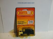 Matchbox #36 Blue/White Refuse Truck