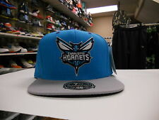 MITCHELL & NESS MENS NBA CHARLOTTE HORNETS BASKETBALL HAT CAP NEW FITTED 7 3/4