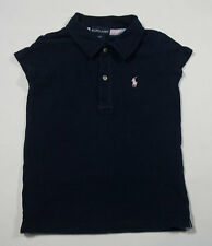 RALPH LAUREN BOYS  SIZE 4 4T  SHIRT NAVY BLUE POLO LOGO