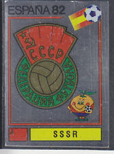 Panini - Espana 82 World Cup - # 382 SSSR Foil Badge