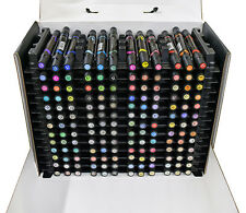 Prismacolor double tip Brush/Fine 156 Marker Box Set- alcohol-based artist color