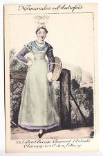 CPA CALVADOS 14 - COSTUME FOLKLORE ROBE NORMANDIE VILLERS BOCAGE CAUMONT ~A77