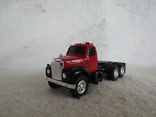 VINTAGE ERTL 1/64 RED MACK CAB TOY TRUCK TRACTOR DCP