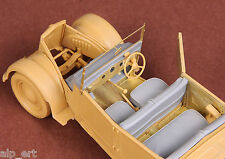 WWII Fiat 508CM Coloniale interior set for Italeri 1/35 SBS 35020 resin p/e