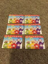 Teletubbies Stickers Lot Of 6 No.8 - New