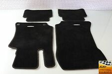 2011 MERCEDES E350 W212 WAGON BLACK CARPET FLOOR MATS SET OEM