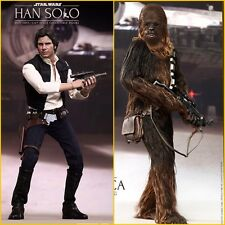 Hot Toys Han Solo And Chewbacca Star Wars A New Hope Set Of 2 Individual