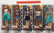 Barbie 2016 Fashionistas Doll Lot of 5 Curvy Tall Original Body Types Dolls NEW