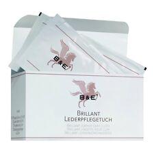 B & E - Brillant Paño De Cuero - 12 Piezas - Cuidado Liso Piel Artificial