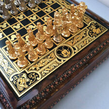 DISNEY PARKS ANFRAMA ARRIBAS 24k HAND MADE GOLD FOIL FAB 5 CHESS SET - SOLD OUT!
