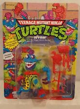 Teenage Mutant Ninja Turtles TMNT 1991 - Wyrm With Worms Unpunched Playmates MOC