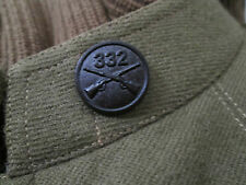 WWI  332nd Infantry Regiment Collar Disk