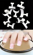 500 Pcs French False Acrylic Nail Art Tips White Decoration Manicure UV Gel New