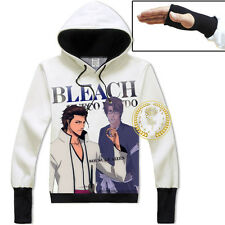 Anime Bleach Aizen Sousuke Warm Design Jacket Hoodie Unisex Coat Tops#15-SL-17