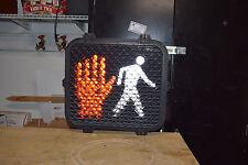 MAN / HAND - led  pedestrian signal light.