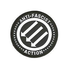 Anti-Fascist Action Embroidered Patch (SHARP ANTIFA RASH Skinhead Oi!)