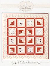 Bunny Hill Designs A CABIN CHRISMAS Quilt Pattern BHD 2086