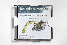 TOP Bauplan, Bagger-Nachbau CAT385C, M 1:16, RC-fähig!