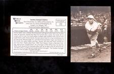 "1987 Conlon JAMES ""JIMMY"" DYKES Philadelphia Athletics Sporting News Card"