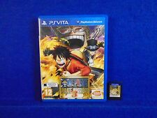PS VITA ONE PIECE Pirate Warriors 3 Game Playstation PAL UK PSVITA