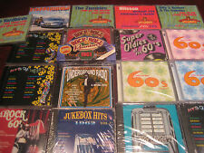 THE 60'S ROCK UNDERGROUND 430+ HITS STEPPENWOLF YARDBIRDS  ZOMBIES BYRDS DONOVAN