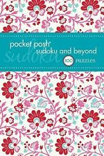 Pocket Posh Sudoku and Beyond 2 100 Puzzles by Puzzle Society Staff NEW unused