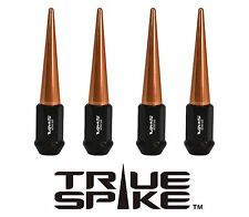 20 VMS RACING 112MM 12X1.5 FORGED STEEL LUG NUTS W/ ROSE GOLD EXTENDED SPIKES