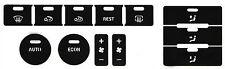 VW Touareg climate control peeling buttons button repair restore