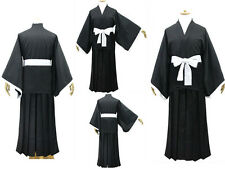 Bleach Cosplay Costume Shinigami Kimono all size