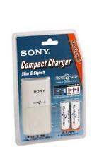 Caricabatterie Da Rete Elettrica + 2 Batterie Ricaricabili 2000mah Sony